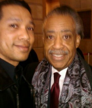 Al Sharpton and Herman Garner