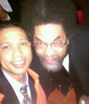 Cornel West and Herman Garner