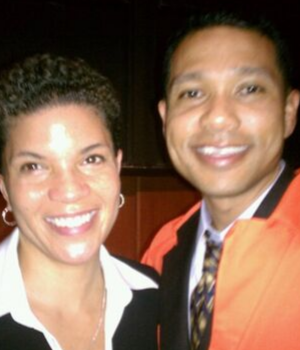 Michelle Alexander and Herman Garner